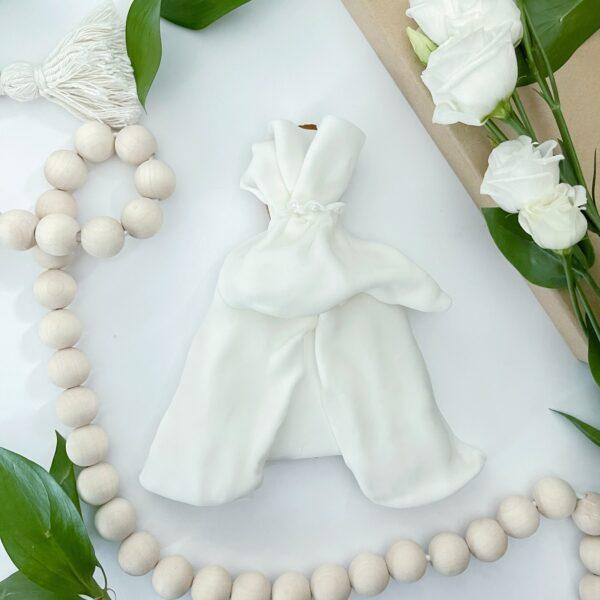 Lukrowana Suknia ślubna 08