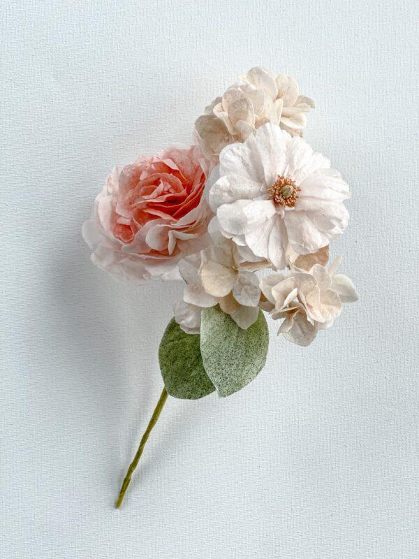 Kwiaty z papieru waflowego